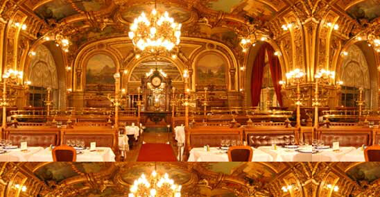 Restaurant Le Train Bleu - Paris